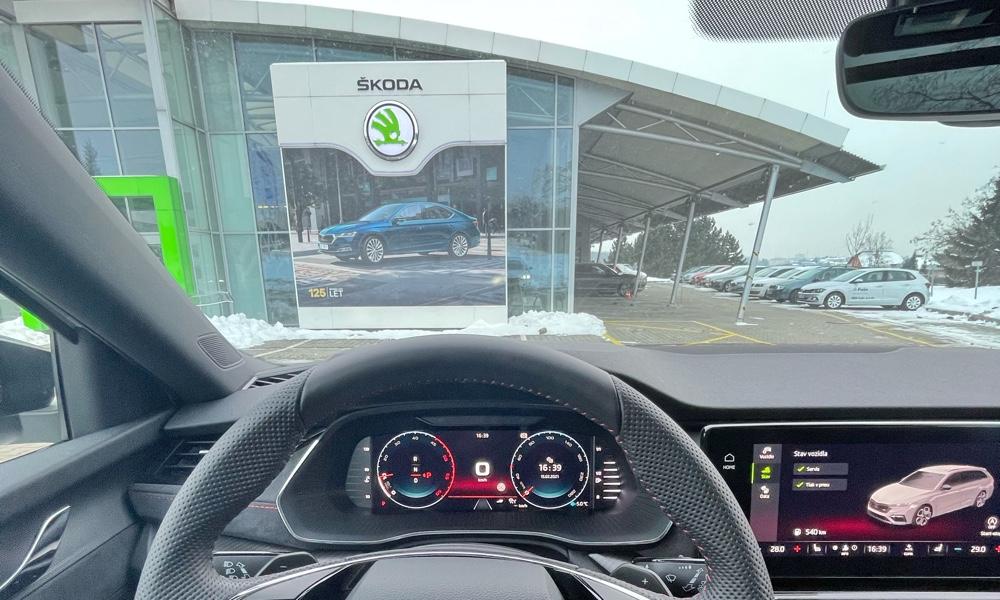 Octavia 4 RS po reklamaci – jak to proběhlo a dopadlo?